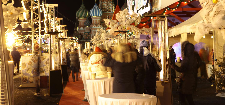 Фуршетные столы на Новый Год